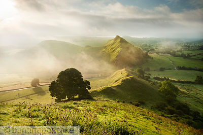 Parkhouse Hill from Chrome Hill, Peak District National Park - BP3275