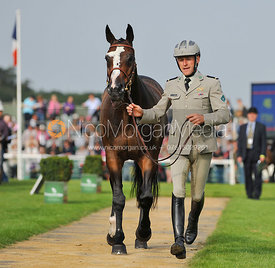 Erwan Le Roux and Fidji De Magne - 2nd Inspection - Burghley 2010