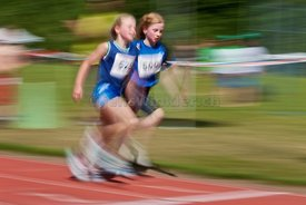Athletics - panning...Light: AL