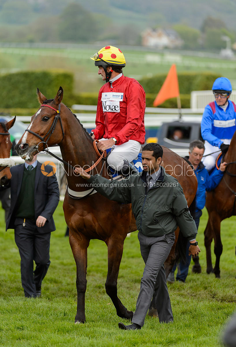 Sir Mark Todd and ERICHT - Champions Willberry Charity Flat Race - Cheltenham Racecourse, April 20th 2017