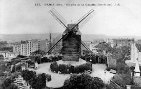 Le Moulin de la Galette Paris 18th