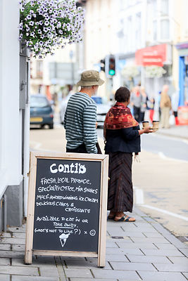 Conti's cafe, Lampeter