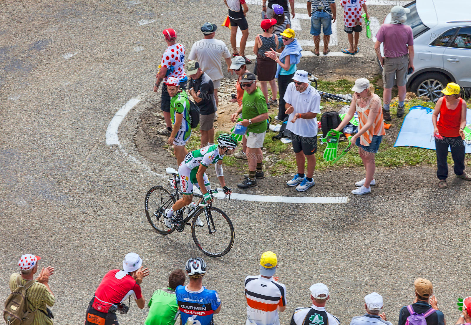 The Cyclist Julien El Fares - Tour de France 2013