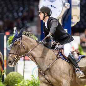 Bordeaux, France, 2.2.2018, Sport, Reitsport, Mercedes-Benz CSI Zurich - Prix FOIRE INTERNATIONALE DE BORDEAUX. Bild zeigt Ju...