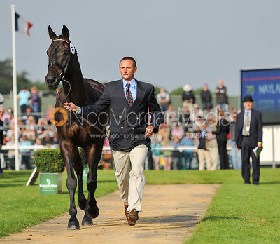Eddy Sans and Mayland De Brunel - 2nd Inspection - Burghley 2010