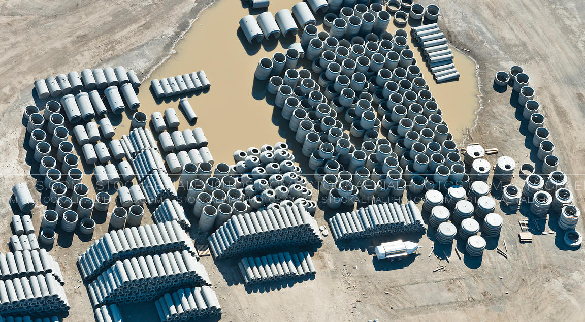 Concrete Pipe Yard