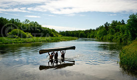 Canoeing in Minnesota