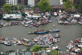 Amsterdam - Luchtfoto Canal Parade 07