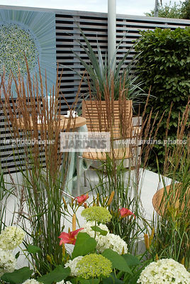 garden designer, Terrace, Trellis, Contemporary Terrace, Digital, Grasses