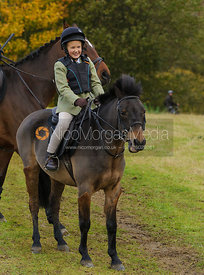 Olivia Hunnisett - The Cottesmore Hunt at Tilton on the Hill, 9-11-13