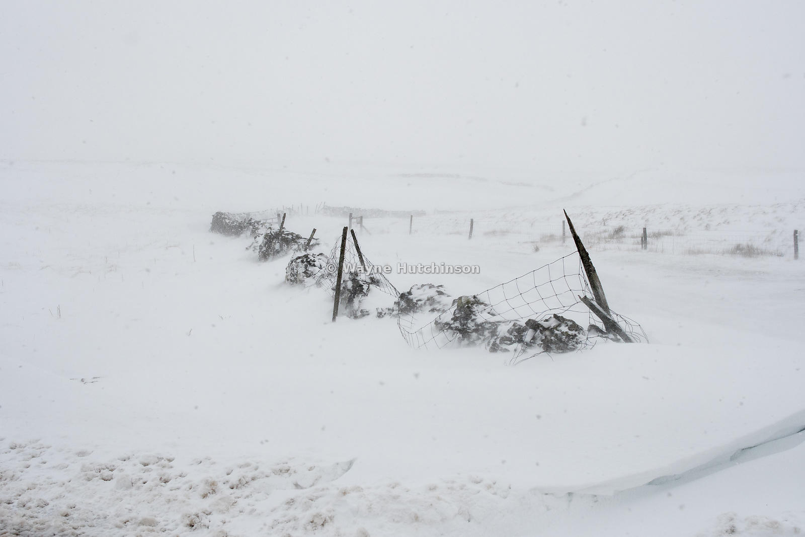 Blizzard in Yorkshire