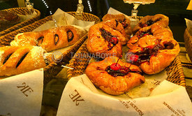 Pastries in Elisseeff Emporium; St. Petersburg, Russian Federation