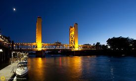 Tower Bridge over the Sacramento River #4