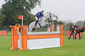 Louisa Milne Home and KING EIDER - cross country phase,  Land Rover Burghley Horse Trials, 6th September 2014.