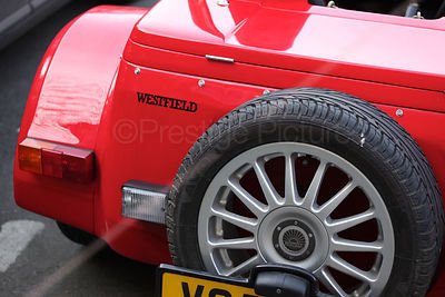 Westfield Red Sports Car