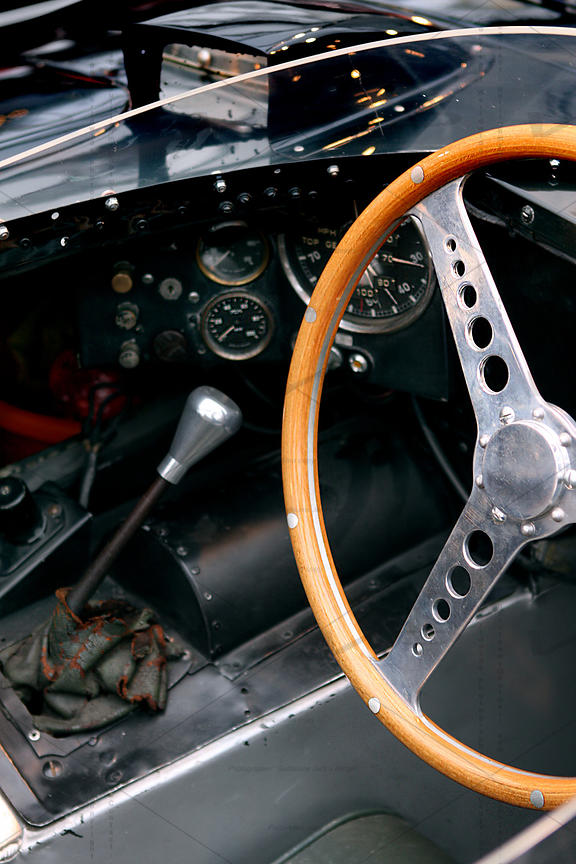 Jaguar D-Type OVC 501 race car