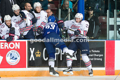 Oshawa Generals vs Sudbury Wolves on December 20, 2015