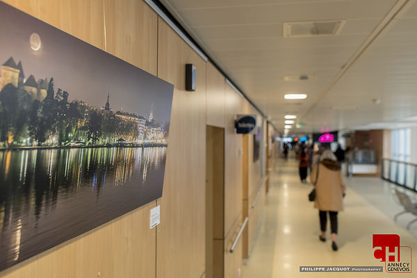 "EXHIBITION ""LACS ETOILES"" ANNECY HOSPITAL- January/February 2016"
