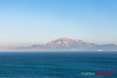 Strait of Gibraltar and coast of Morocco, Spain