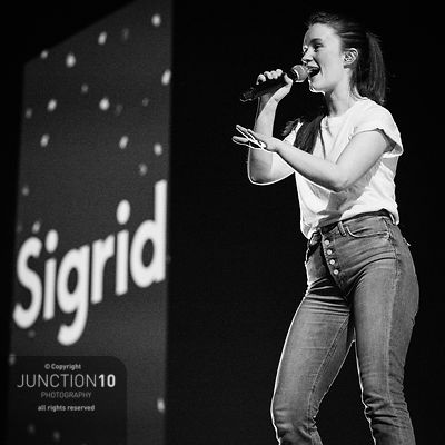 Sigrid at Resorts World Arena, Birmingham, United Kingdom - 17 Mar 2019