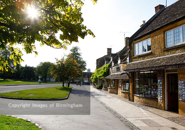The village of Broadway in the Cotswolds.  England.