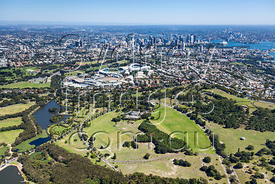 Centennial Park to the City