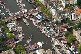 Amsterdam - Luchtfoto Canal Parade 16