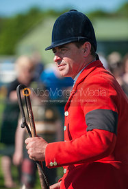 Meynell and South Staffordshire Hunt huntsman Jamie Nicklin