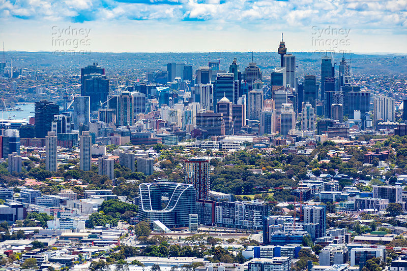Green Square to Sydney Skyline