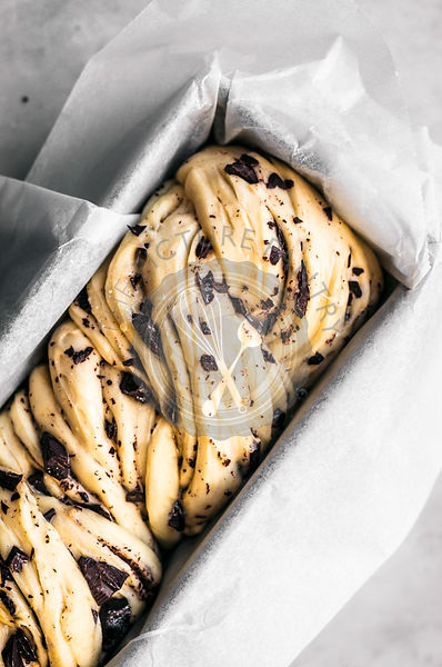 Honey Chocolate Babka Dough