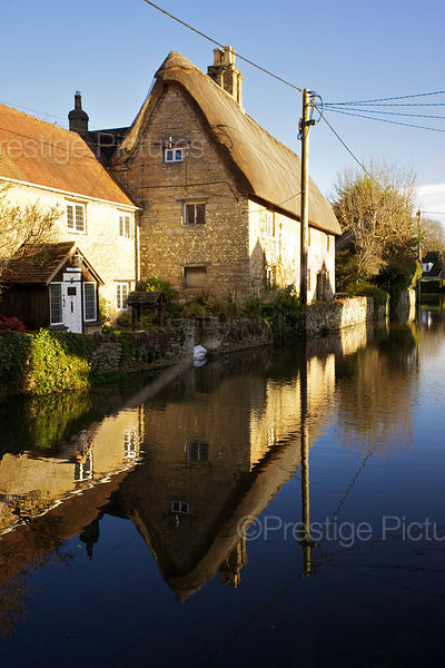 Flooding in Picturesque Streets in Kidlington Oxfordshire