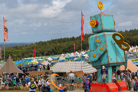 Camp Bestival at Lulworth Castle 2017