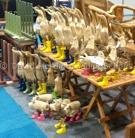 DUCKS IN A ROW – AT THE BOAT SHOW