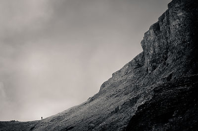 Lone Hiker, South Saddle, Mt. Timpanogos, Utah