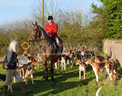 The Belvoir Hunt at Sproxton 25/1