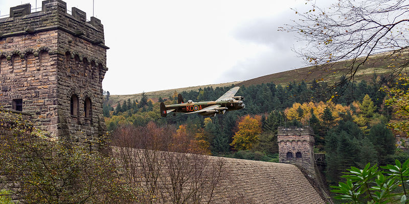 Lancaster PA474 KC-A at the Derwent Dam