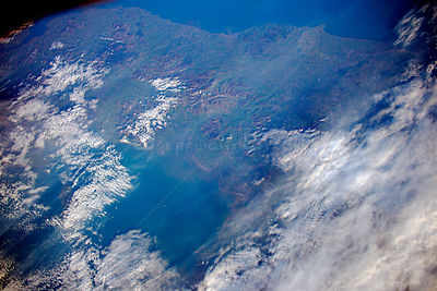 Tim Peake photographs flooded Britain from the ISS
