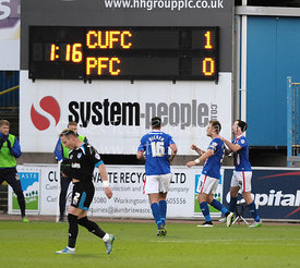 Carlisle United v Portsmouth, SKY BET LEAGUE 2, 21st November 2015