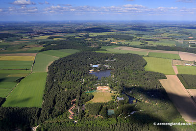 aerial photograph of Center Parcs, Sherwood Forest