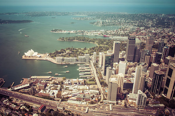 Circular Quay and Sydney Harbour