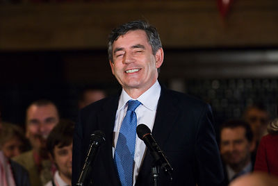 Gordon Brown Labour Party Leadership Campaign, Jason Bye, May 2007