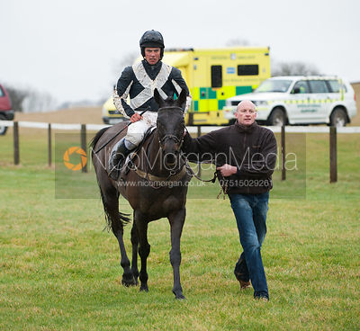 Valance and Oliver Greenall - Race 1 - Cottesmore Hunt Point to Point, Garthorpe 4/3/12