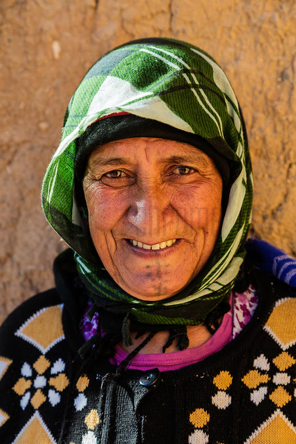 Portrait of a Berber Woman