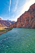 Colorado River (2)- Near Phantom Ranch, Grand Canyon