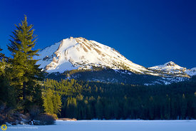 Mt Lassen from Manzanita Lake #6