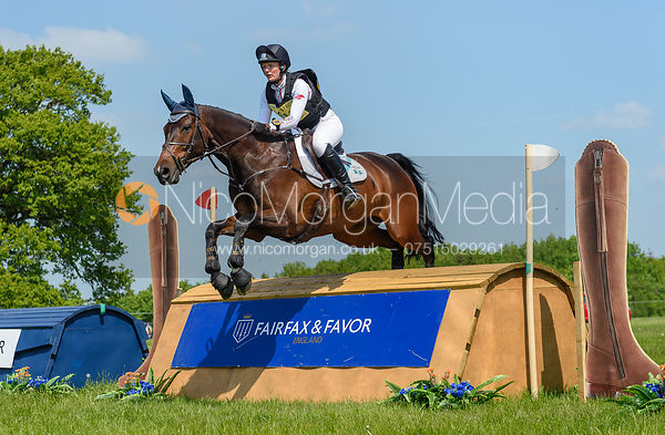 Elizabeth Power and DSL THE ENTERTAINER, Fairfax & Favor Rockingham Horse Trials 2018