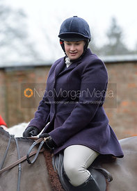 Charlotte Wright at the meet at Buckminster