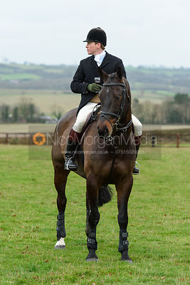 Charles Henson At the meet. The Cottesmore Hunt at Bleak House 18/12