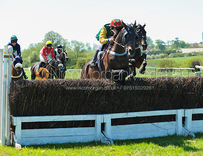 James Tudor and More Trouble (IRE) - Meynell and South Staffordshire Hunt point to point 2012