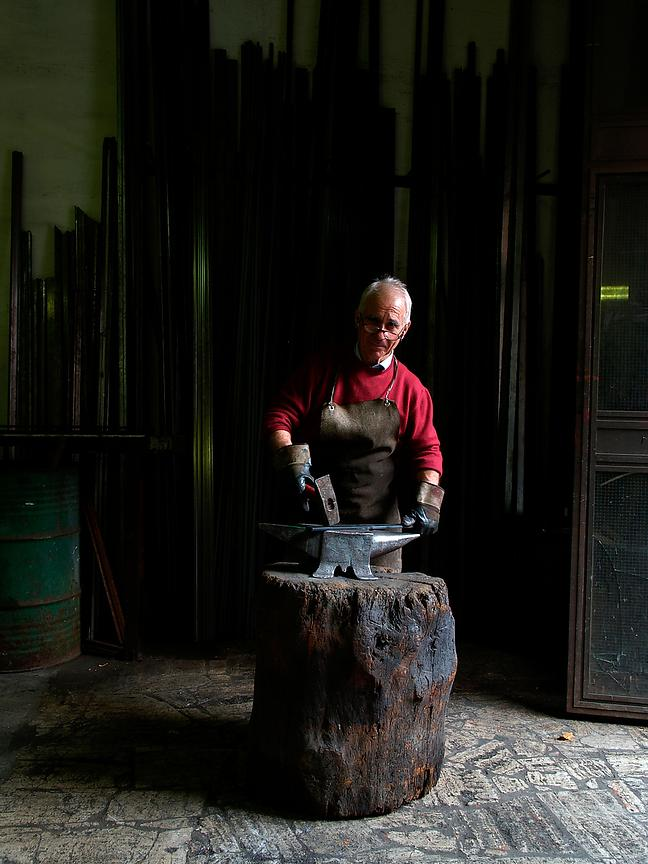 Anacleto, Blacksmith. Rome.